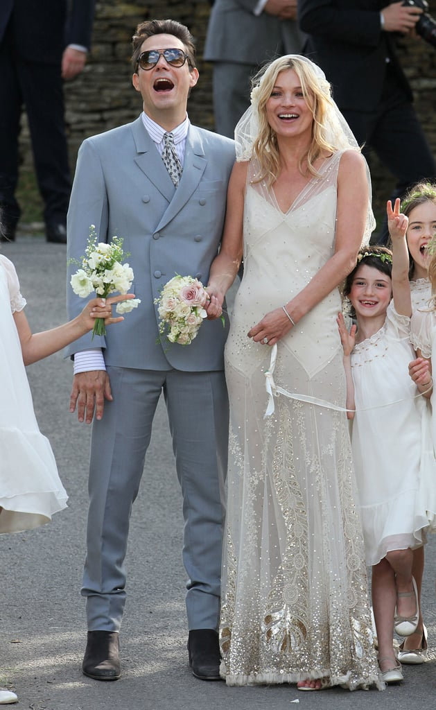 Kate Moss Wedding Dress Pictures With Husband Jamie Hince | POPSUGAR ...