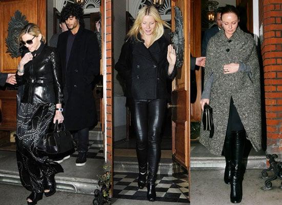 Photos of Madonna, Jesus, Gwyneth and Stella