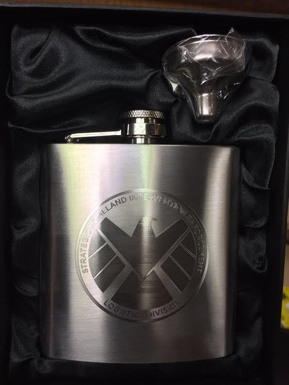 Agents of S.H.I.E.L.D. Flask