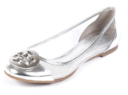 Tory Burch Silver Audrey Ballet Flat: Love It or Hate It?