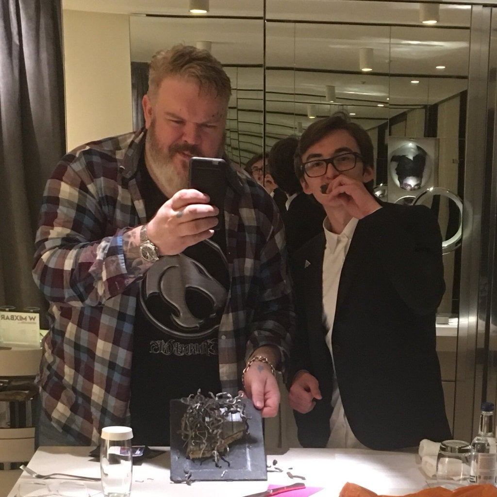 Hodor and Bran Hanging Out in Real Life