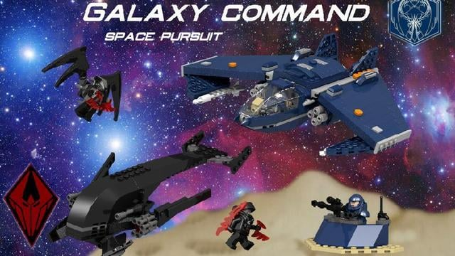 Galaxy Command Space Pursuit