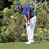 Will Smith Golfing