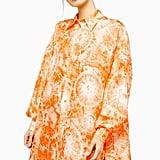Topshop Silk Tie Dye Shirt by Boutique