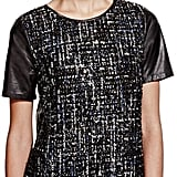 Workwear gets a bit of festive sparkle with M&S's sequin embellished wool top (£45)