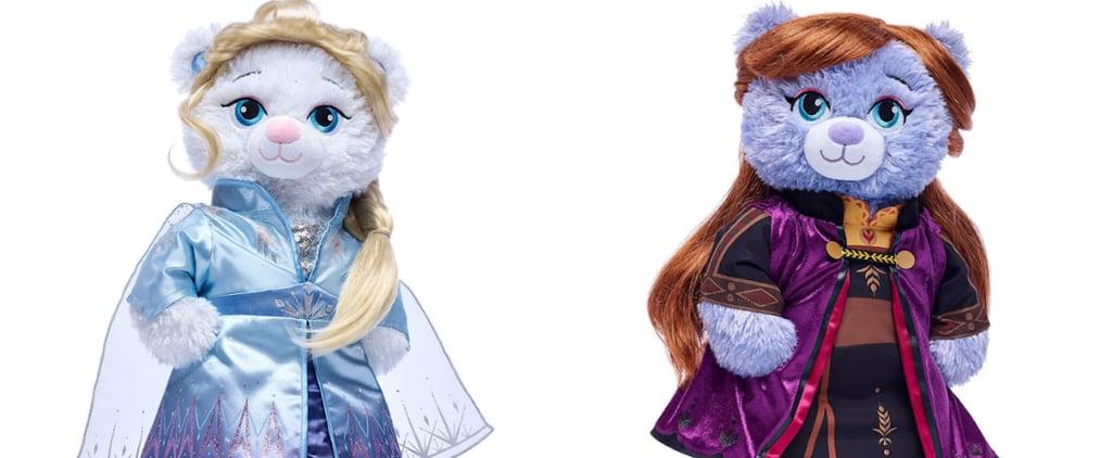 Disney Frozen 2 Plush Toys at Build-A-Bear