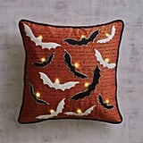 Pier 1 Imports Halloween Bats LED Light-Up Pillow