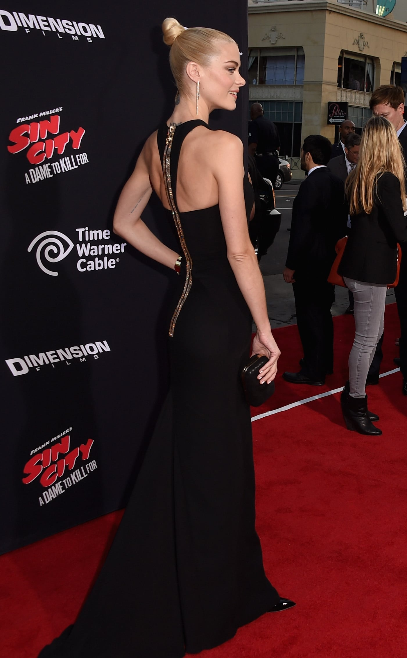 Jaime King From the Back