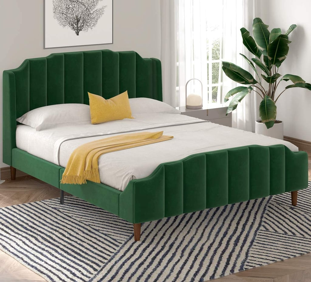 For Jungle Vibes: Sha Cerlin Queen Size Bed Frame
