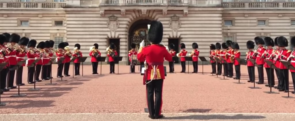 Guards Playing Aretha Franklin at Buckingham Palace
