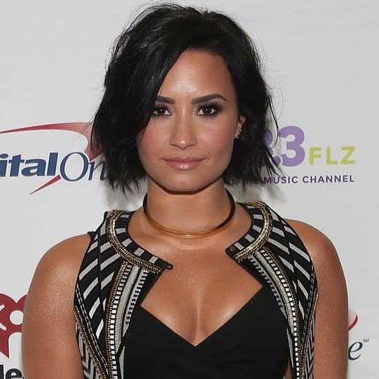 Demi Lovato NYC New York Color Lovatics Makeup