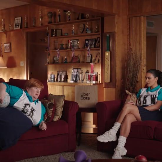Kim Kardashian Uber Eats Ad Australia