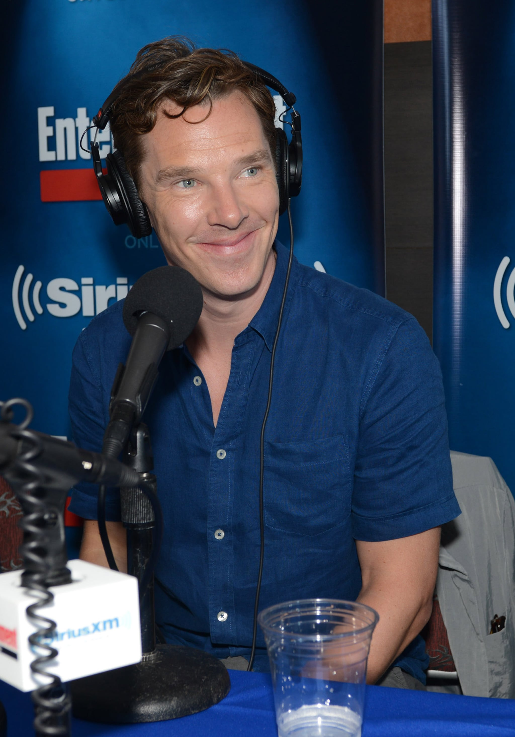 Benedict Cumberbatch sat down for a SiriusXM interview on Thursday.