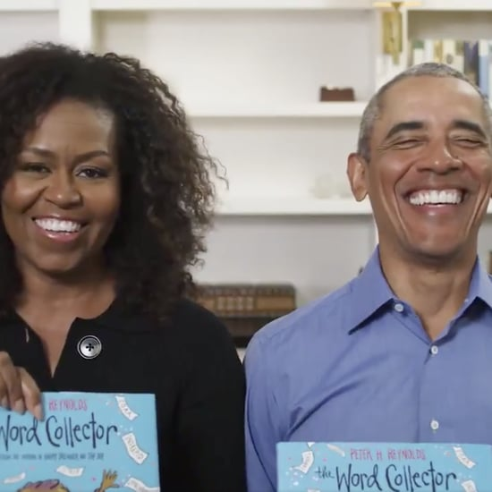 "Watch Michelle and Barack Obama Read ""The Word Collector"""
