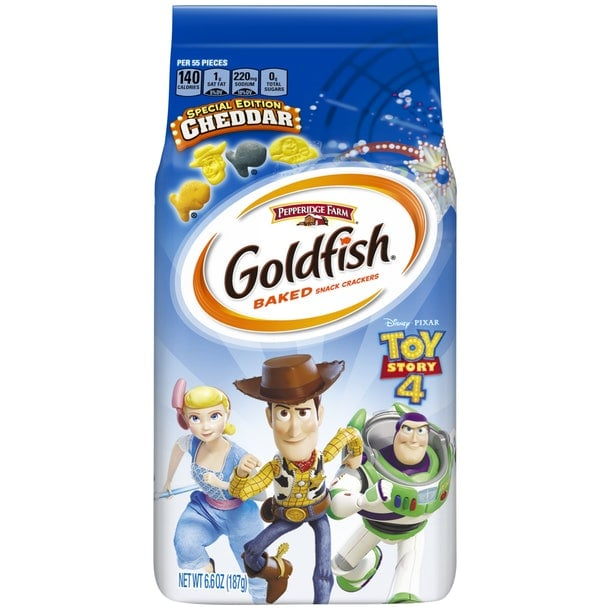 Pepperidge Farm Is Coming Out With Toy Story Goldfish, and Yep, We NEED to Stock Up!