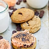 Pumpkin Chocolate Chip Cookie S'mores