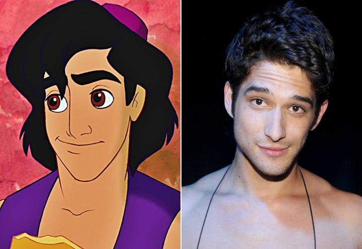 Aladdin — Tyler Posey