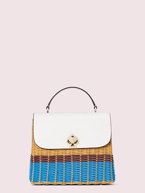 Kate Spade NY Romy Wicker Medium Top-Handle Bag