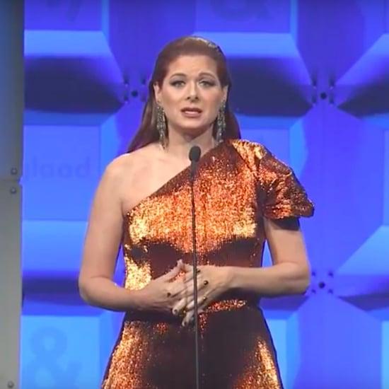 Debra Messing Speech at the 28th Annual GLAAD Media Awards