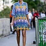 Giovanna Battaglia at Paris Fashion Week