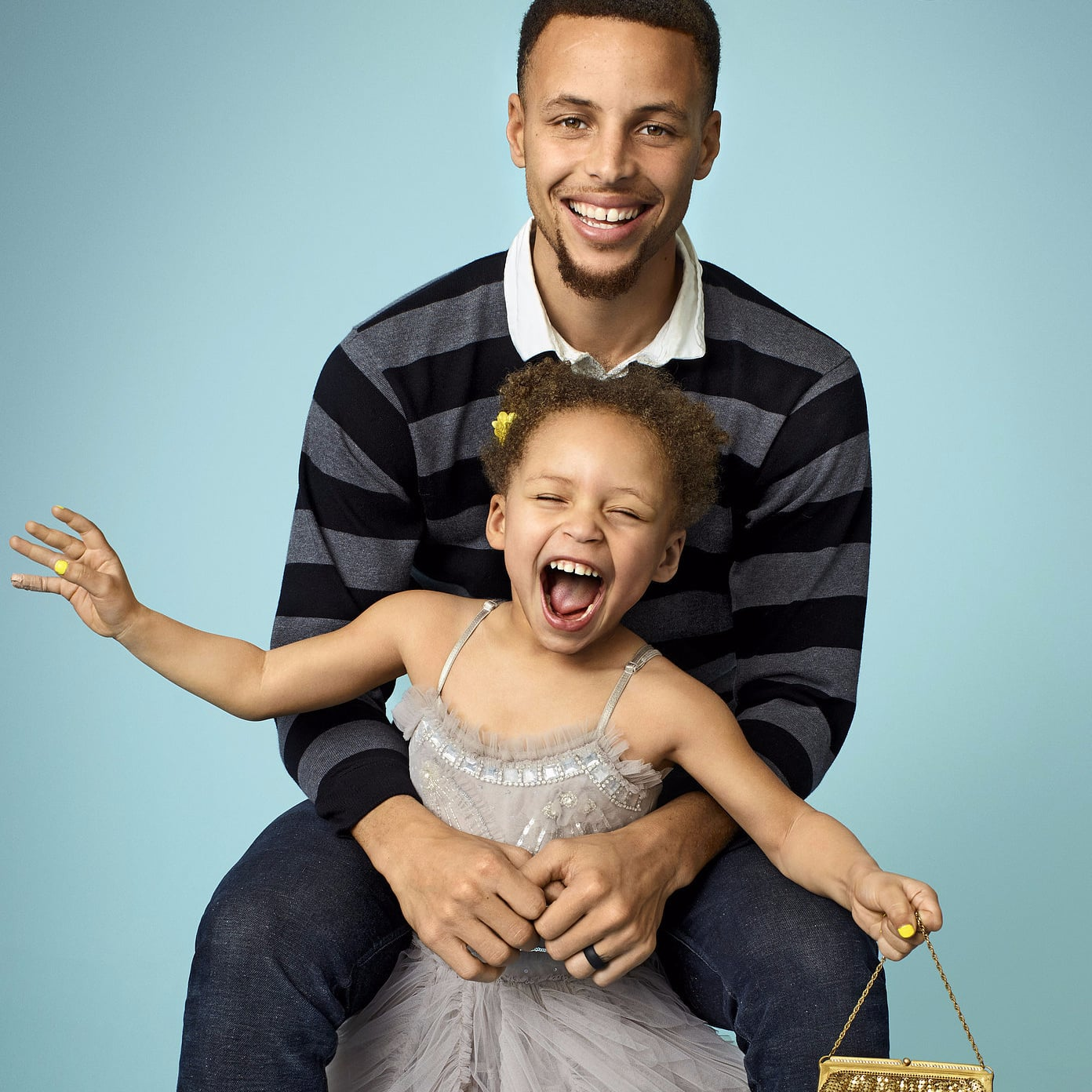 Steph And Ayesha Curry In Parents Magazine June 2016 Popsugar Celebrity