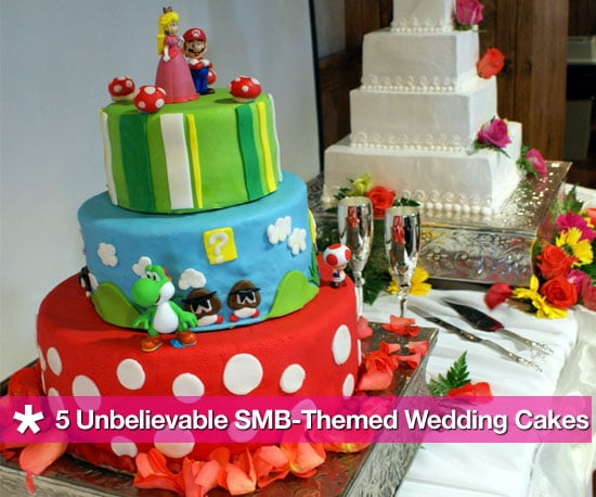 super mario bros wedding cake mario bros wedding cake popsugar tech 20626