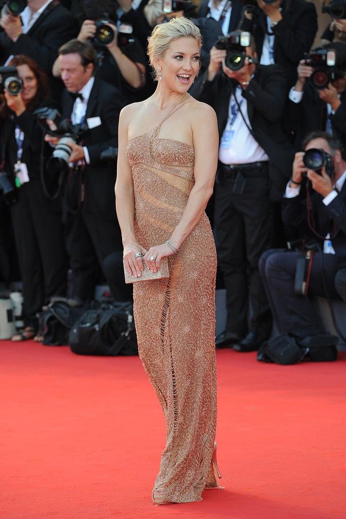 Kate Hudson in Versace at the Venice Film Festival