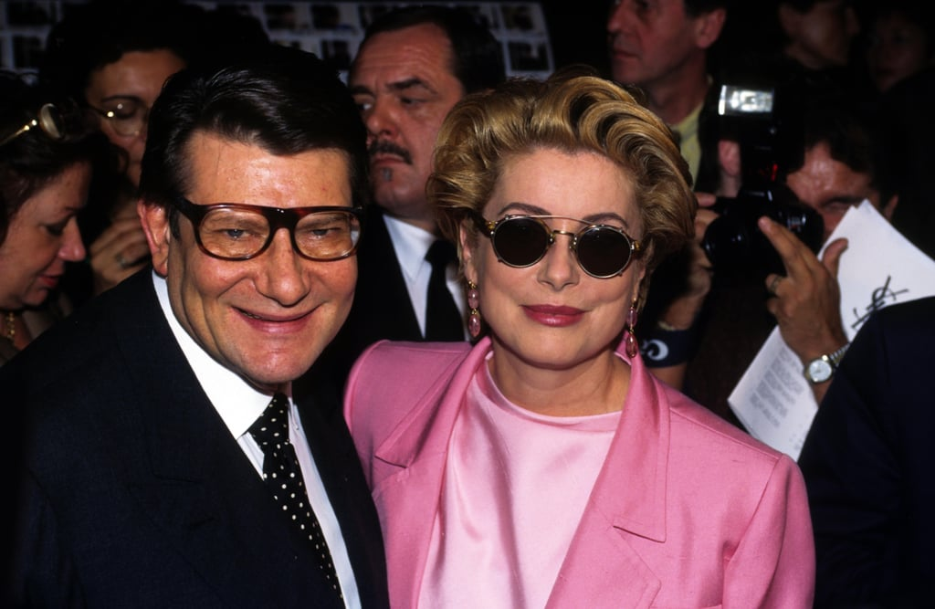 Catherine Deneuve and YSL were friends for decades — the French actress was his longtime muse and confidante.