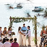 This Colourful Lakefront Wedding Looks Like the Summer Party We've Always Wanted to Attend