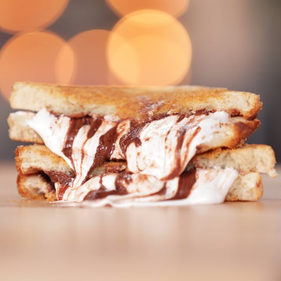 S'mores Grilled Cheese Sandwich