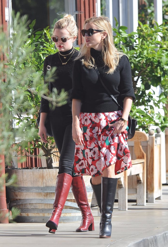 Reese Witherspoon With Ava Phillippe in LA November 2016