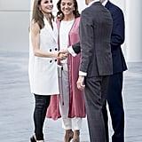Queen Letizia's Massimo Dutti Vest May 2017