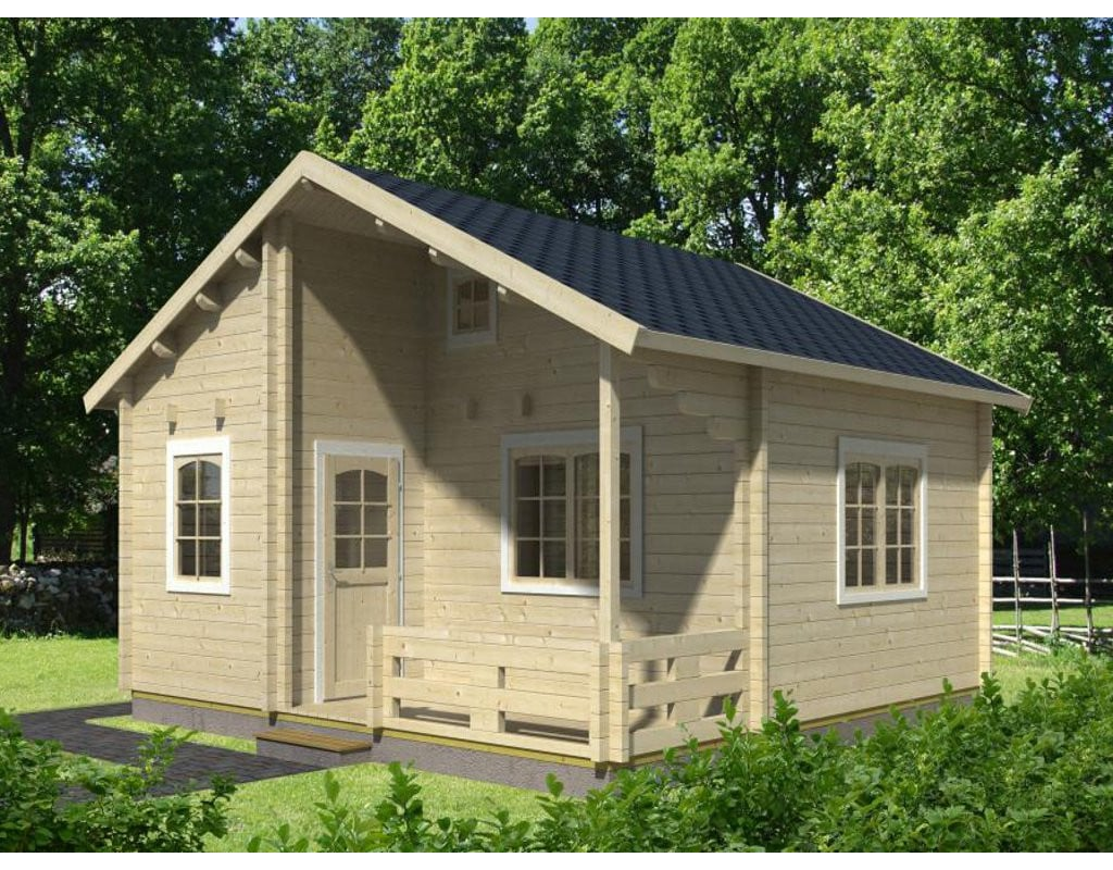 Allwood Ranger Cabin Kit | You Can Buy All 19 of These Tiny