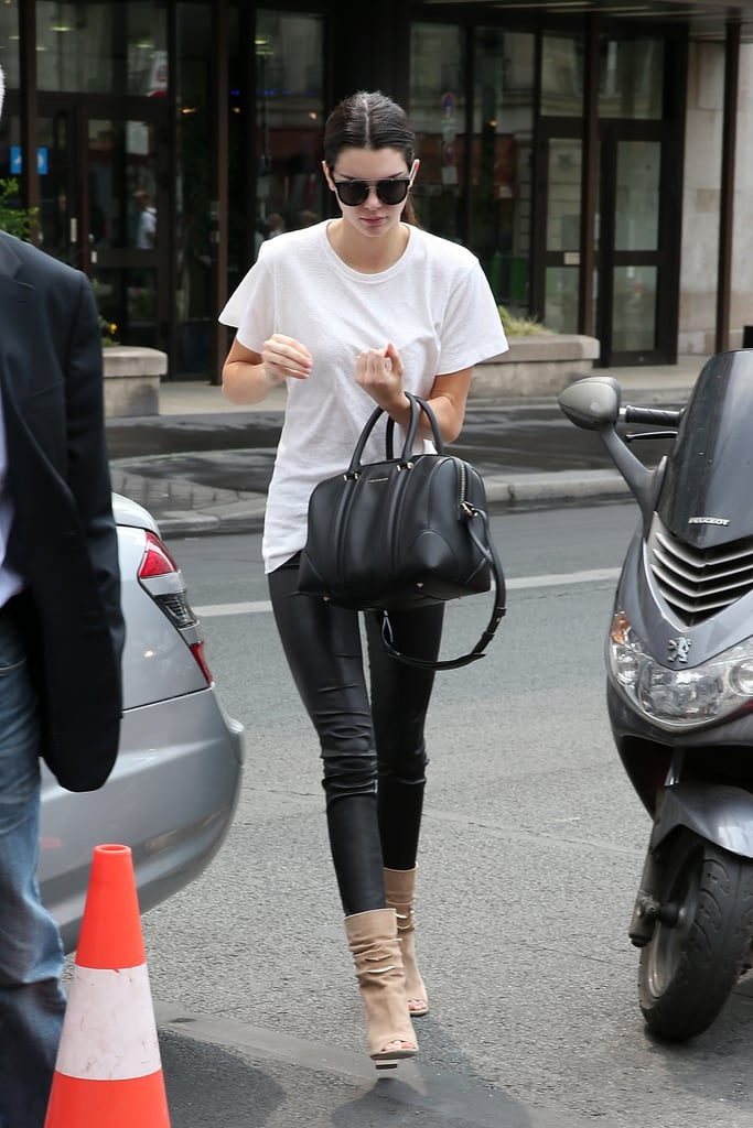 . . . And of Course, Every Fashionista's Staple: a Simple White Tee