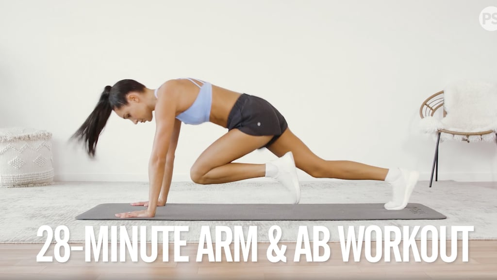 4-Week No-Equipment Workout Plan Weeks 1 and 3: Arms and Abs
