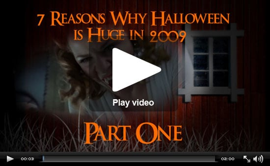 The 7 Reasons Halloween Is Huge in 2009, Part 1: TV, Movies and Celebrity Baby Trick-or-Treaters!