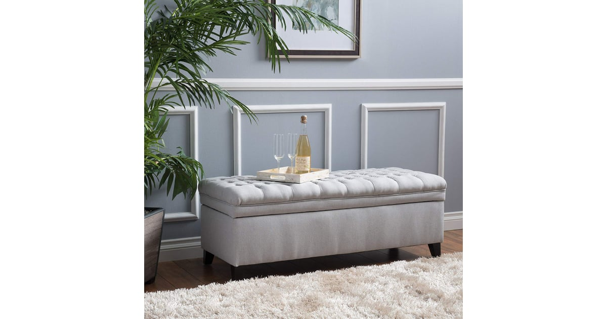 Laguna Living Room Storage Ottoman Small Apartment Furniture
