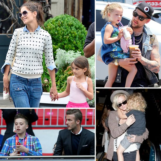 Celebrity Family Pictures July 30, 2012