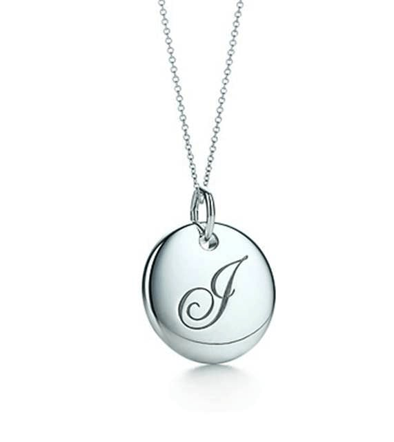 Tiffany & Co. Initial Necklace