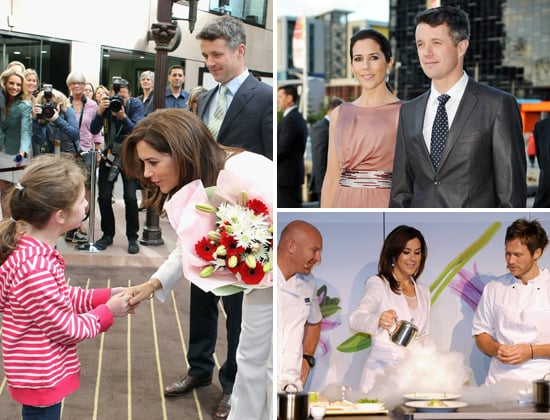Princess Mary and Prince Frederik Pictures in Melbourne