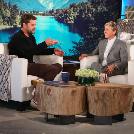 Joshua Jackson on The Ellen Show December 2016