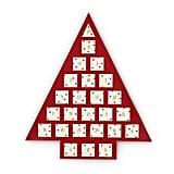 The Jewelry-Filled Calendar Is Shaped Like a Christmas Tree