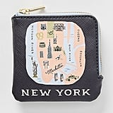 Rifle Paper Co. For Anthropologie New York Coin Pouch