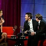 She won an Emmy award.
