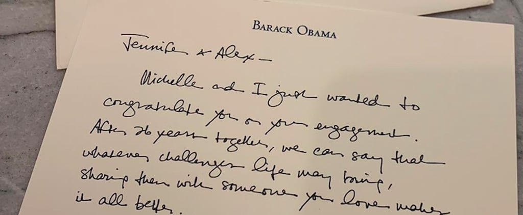 Obama's Letter to Alex Rodriguez and Jennifer Lopez 2019
