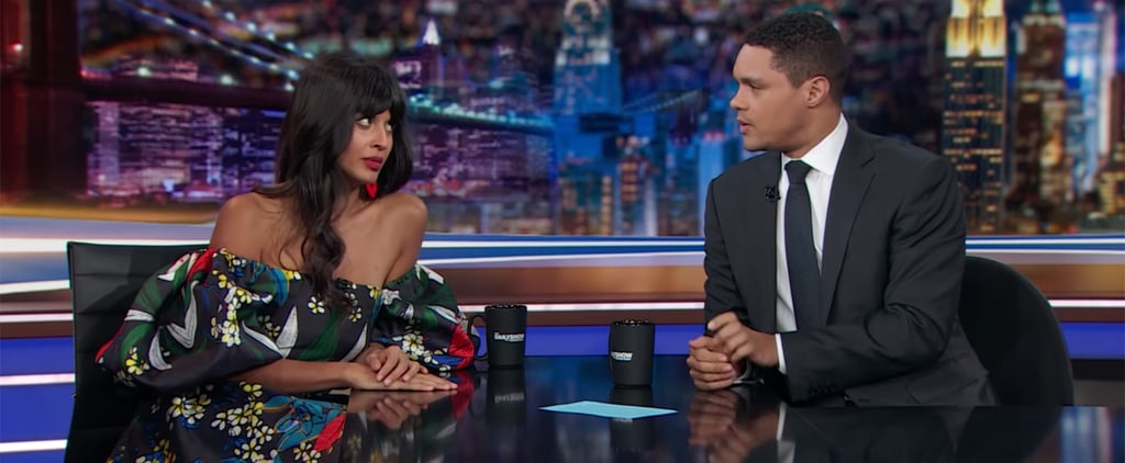Jameela Jamil's Quotes About Detox Tea on The Daily Show