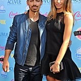 Joe Jonas With Then-Girlfriend Blanda Eggenschwiler at the Teen Choice Awards in 2013