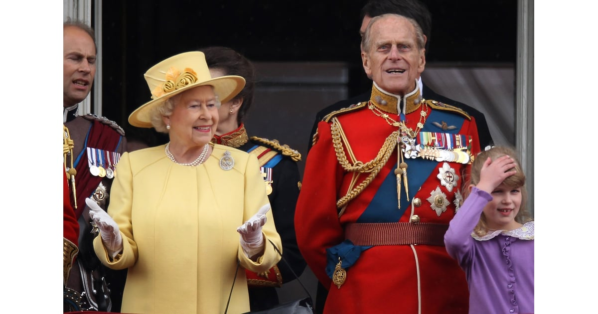 Prince philip and queen elizabeth were together on the for Queen elizabeth balcony