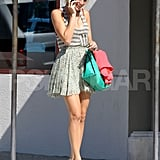 Blake Lively Keeps the Gossip Going in LA