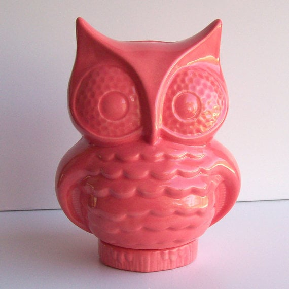 Ceramic Owl Bank ($40)